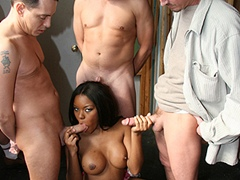 Black porn gang bang video. Porn star name - Candice Nicole