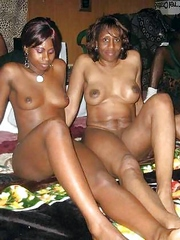 Ebony swingers posted pictures of their..