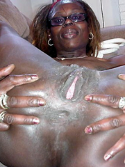 Old black woman loves anal sex, more..