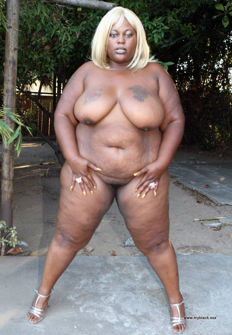 Fat women black naked