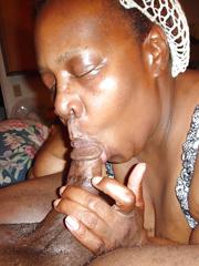 black mom sucking dick