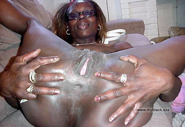Old black anal sex